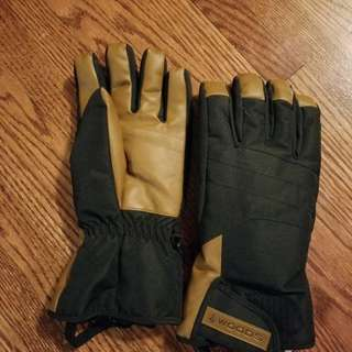 Brand new woods mens winter gloves