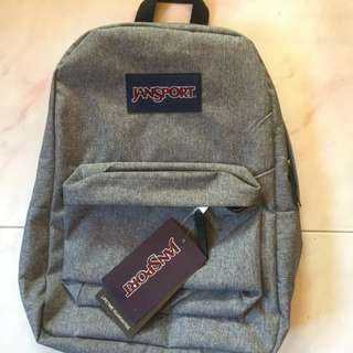 Original Jansport Denim Backpack
