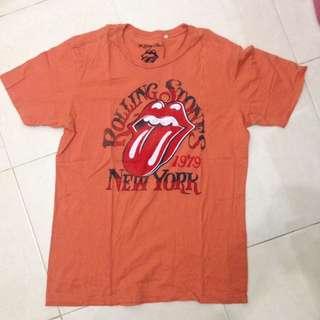 Baju Kaos Band Rolling Stones