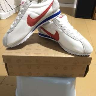 Nike阿甘鞋(白紅色)