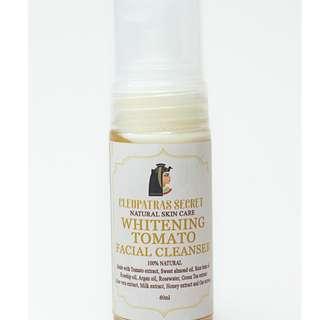 Cleopatra's Secret Whitening Tomato Facial Cleanser
