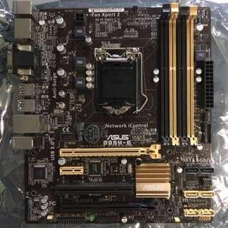 Asus B85M-E motherboard (socket 1150)