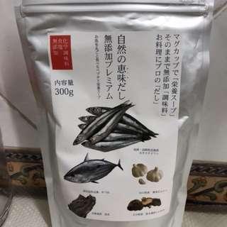全新日本製無化學成份無添加 魚湯粉