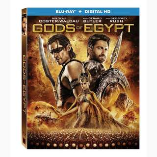 Gods Of Egypt (Blu Ray + Digital Hd )