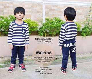 Kids terno fits 3-8 yrs old