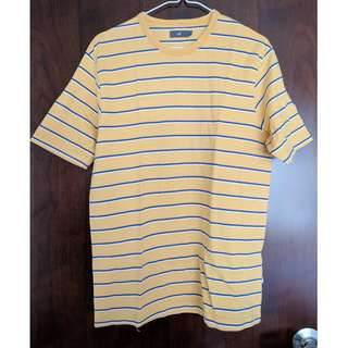 U2 Yellow Striped Shirt