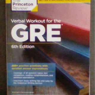 The Princeton Review: Verbal Workout for the GRE