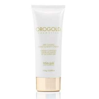 OROGOLD 24K 純金身體及手部潤膚霜