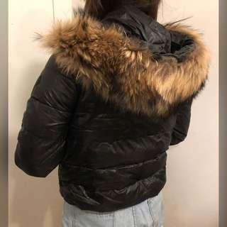 Coat with fur (s)