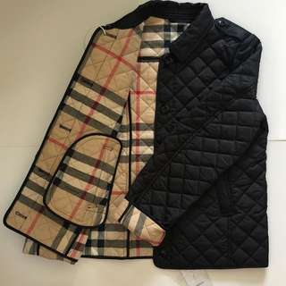 (Year 12/ Fit for XS) Burberry Padded Jacket