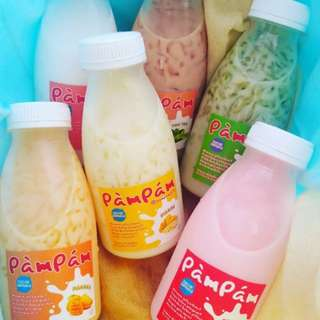 Pampam Susu Jelly Drink Homemade