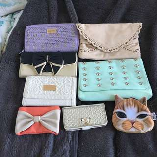 Purses and bags!! $40 for all