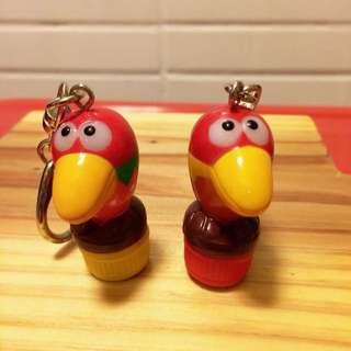 🚚 森永巧克力 大嘴鳥 吊飾 2款單售