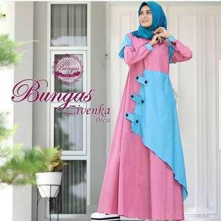 MLA - 0118 - Dress Busana Muslim Zivenka
