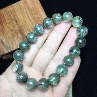 Natural green phantom bracelet- new stock