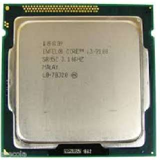 Intel i3 2100 socket 1155 CPU with or without fan
