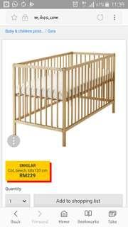 Katil Baby Ikea