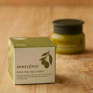 Innisfree real olive eye cream