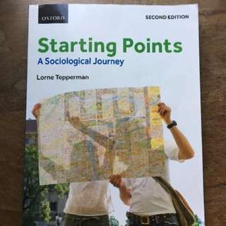 SOC STARTING POINTS TEXTBOOK