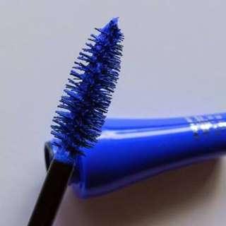 Bourjois Paris Electric Blue Mascara makeup unique fun color