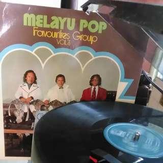 record vinyl pop melayu