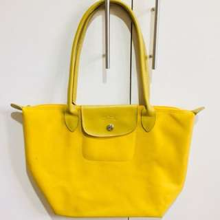 Longchamp Yellow bag