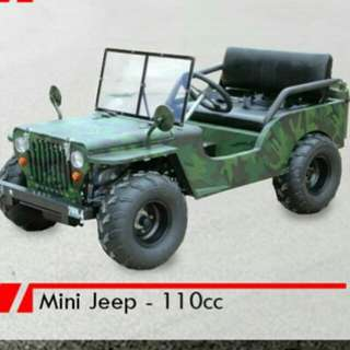 Mini jeep 110cc