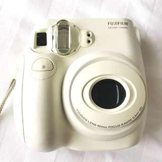 Fujifilm Instax MINI 7s White Instant Camera PLUS 10 Film