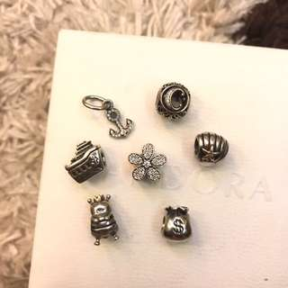 Authentic Pandora Charms (as low as 1400)