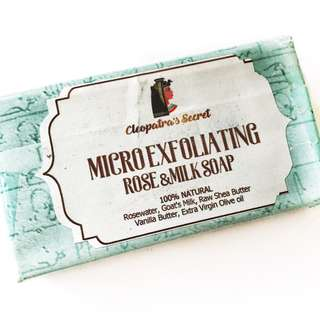 Cleopatra's Secret Micro exfoliating Milk Enzyme Face and Body Soap