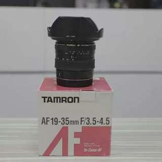 Tamron 19-35mm F3.5-4.5