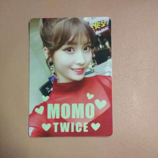 Twice momo夜光卡