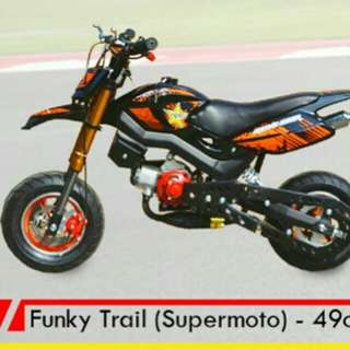 Funky trail - supermoto 49cc