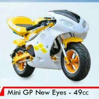 Mini GP new eyes 49cc