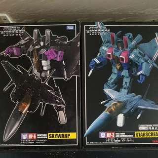 Takara Transformers Masterpiece Mp 3, 3G, 5 and 6
