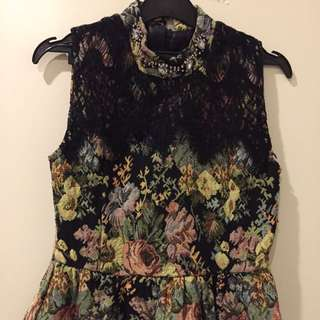 Party flower dress size S