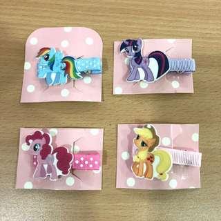 Handmade My Little Pony Hair Clip