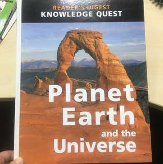 Reader digest planet earth and the universe