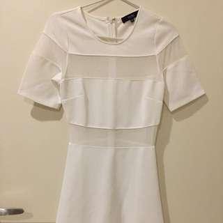 New MDS white dress