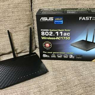 Asus Router RT AC 66 U (AC 1750) Dual Band Good Condition Hardly Used