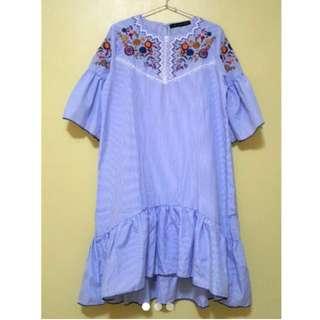 Embroided Bangkok Dress