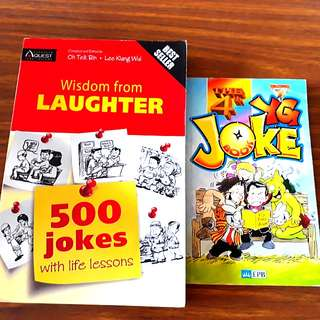 😄2 for $8: Wisdom from Laughter, The 4th YG Joke Book