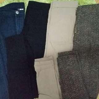 High waisted Denim Jeans/Pants