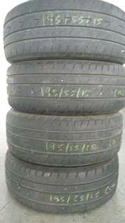 (Nego) 2nd Hand Tyre 195/55/15