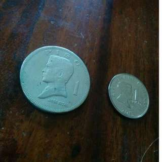 1972 Old Piso Coin