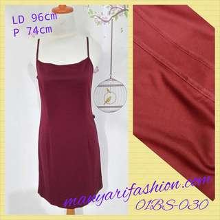 Dress second import kode 01BS030