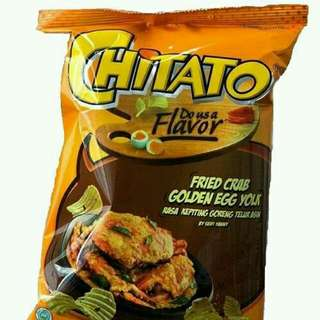 Chitato Fried Crab Golden Egg Yolk (Chitato Kepiting Goreng Telur Asin)