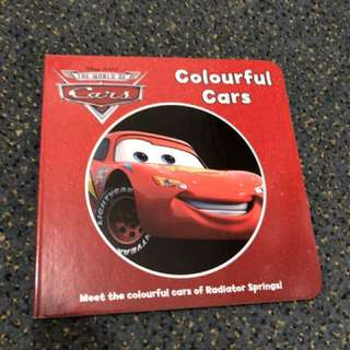 Disney Cars - Colorful cars