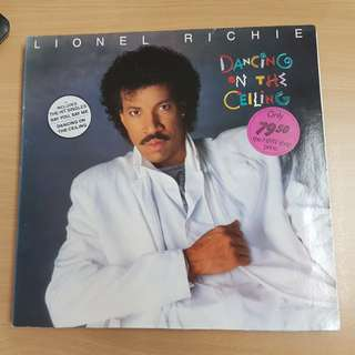 Lionel Richie Dancing On The Ceiling Vinyl LP Original Pressing Rare