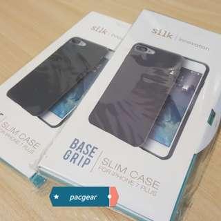 "iPhone 7 Plus 8 Plus Case - Silk ""Kung Fu"" Base Grip"
